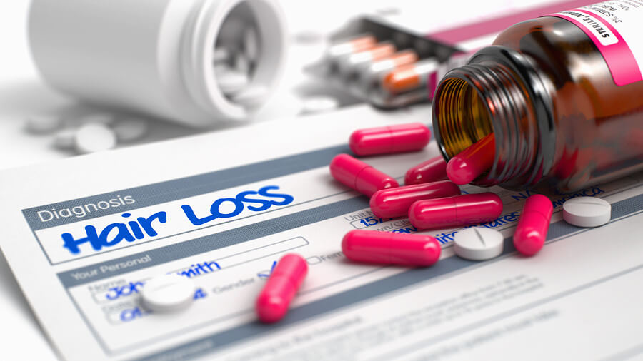 Opadanje kose od antibiotika